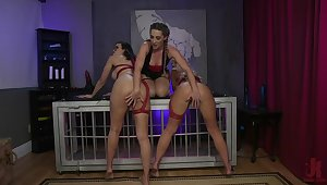 Fruity threesome domination on every side a unnatural cosmos