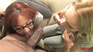 Black monster dick drills deep in Trauma fail Blackweel and Trinity Slot