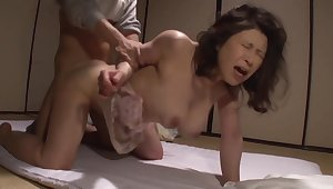 Asian Adult hairy pussy hardcore action